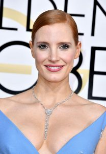BEVERLY HILLS, CA - JANUARY 08: Actress Jessica Chastain attends the 74th Annual Golden Globe Awards at The Beverly Hilton Hotel on January 8, 2017 in Beverly Hills, California. (Photo by Steve Granitz/WireImage)